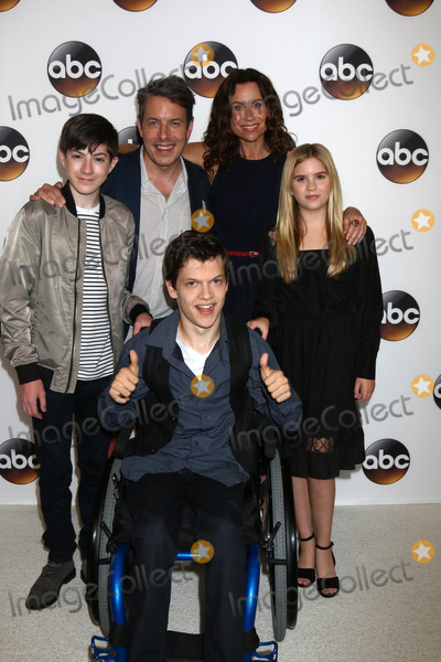 Kyla Kenedy Photo - Mason Cook John Ross Bowie Minnie Driver Kyla Kenedy Micah Fowlerat the ABC TCA Summer 2016 Party Beverly Hilton Hotel Beverly Hills CA 08-04-16