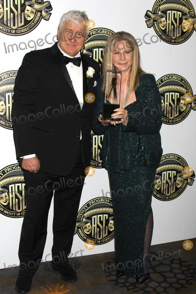 Andrzej Bartkowiak Photo - Andrzej Bartkowiak Barbra Streisandat the 2015 American Society of Cinematographers Awards Century Plaza Hotel Century City CA 02-15-15