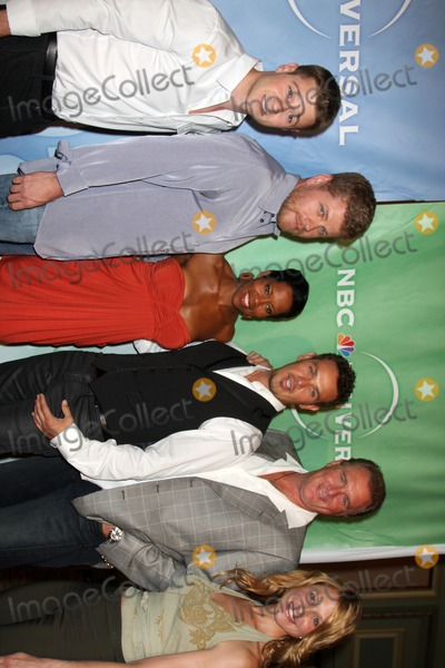 Arija Bareikis Photo - Ben McKenzie  Michael Cudlitz Regina King Kevin Alejandro Arija Bareikis and Michael McGrady of SOUTHLAND arriving at the NBC TCA Party at The Langham Huntington Hotel  Spa in Pasadena CA  on August 5 2009