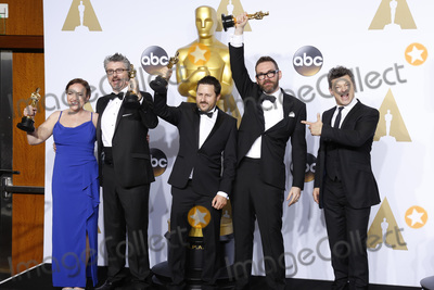 Andy Serkis Photo - LOS ANGELES - FEB 28  Mark Williams Ardington Paul Norris Sara Bennett Andrew Whitehurst Andy Serkis at the 88th Annual Academy Awards - Press Room at the Dolby Theater on February 28 2016 in Los Angeles CA