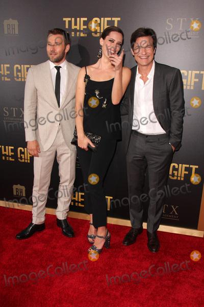 Joel Edgerton Photo - LOS ANGELES - JUL 30  Joel Edgerton Rebecca Hall Jason Bateman at the The Gift World Premiere at the Regal Cinemas on July 30 2015 in Los Angeles CA