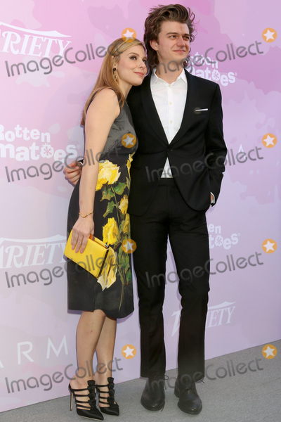 Cara Buono Photo - LOS ANGELES - JAN 28  Cara Buono Joe Keery at the Varietys Celebratory Brunch Event For Awards Nominees at  Cecconis on January 28 2017 in West Hollywood CA