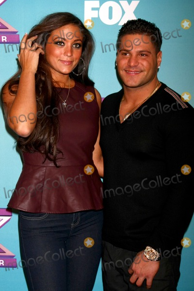 Ronnie Ortiz Magro Photo - LOS ANGELES - DEC 19  Sammi Sweetheart Giancola Ronnie Ortiz-Magro at the X Factor Season Finale performances  show taping at CBS Television City on December 19 2012 in Los Angeles CA