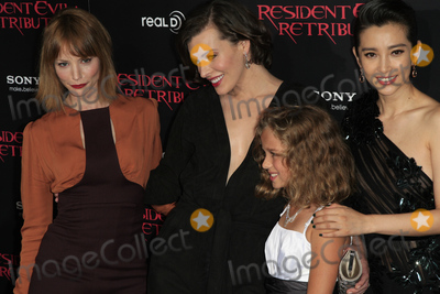 Aryana Engineer Photo - LOS ANGELES - SEP 12  Cast Milla Jovovich arrives at the Resident Evil Retribution Premiere at Regal Cinemas LA Live on September 12 2012 in Los Angeles CA