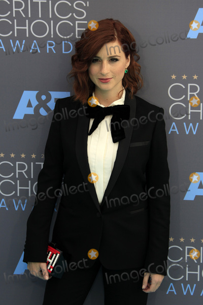 Aya Cash Photo - LOS ANGELES - JAN 17  Aya Cash at the 21st Annual Critics Choice Awards at the Barker Hanger on January 17 2016 in Santa Monica CA