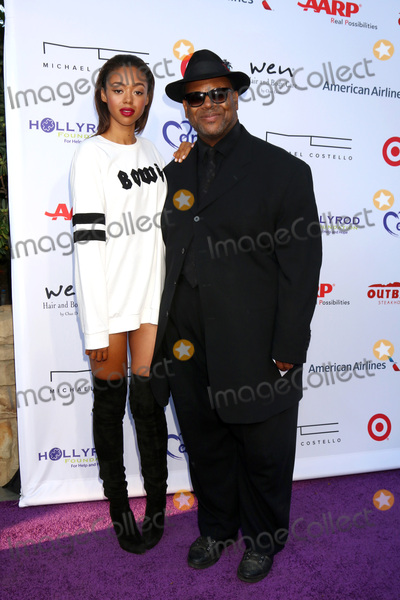 Bella Harris Photo - LOS ANGELES - JUL 16  Bella Harris Jimmy Jam Harris at the HollyRod Presents 18th Annual DesignCare at the Sugar Ray Leonards Estate on July 16 2016 in Pacific Palisades CA