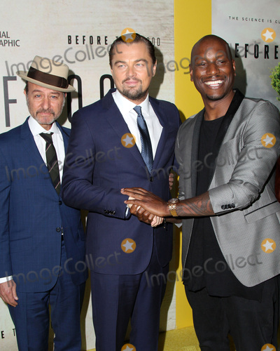 Leo DiCaprio Photo - LOS ANGELES - OCT 24  Fisher Stevens Leo Dicaprio Tyrese Gibson at the Screening Of National Geographic Channels Before The Flood at Bing Theater At LACMA on October 24 2016 in Los Angeles CA