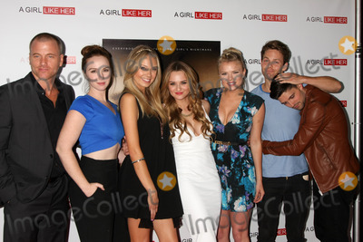 Melissa Ordway Photo - LOS ANGELES - MAR 27  Sean Carrigan Camryn Grimes Melissa Ordway Hunter King Kelli Goss Lachlan Buchanan Robert Adamson at the A Girl Like Her Screening at the ArcLight Hollywood Theaters on March 27 2015 in Los Angeles CA
