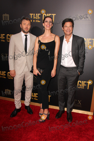 Joel Edgerton Photo - LOS ANGELES - JUL 30  Joel Edgerton Rebecca Hall Jason Bateman at the The Gift World Premiere at the Regal Cinemas on July 30 2015 in Los Angeles CA