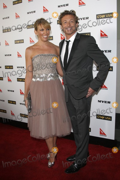 toni collette in her shoes. Toni Collette Simon Baker arriving at the GDay USA 2010 Los Angeles Black