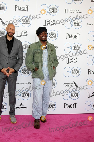 Andre 3000 Photo - LOS ANGELES - FEB 21  Andre 3000 at the 30th Film Independent Spirit Awards at a tent on the beach on February 21 2015 in Santa Monica CA