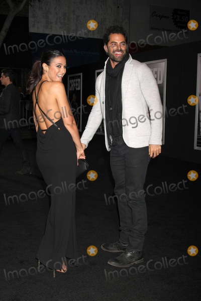 Adrian Bellani Photo - LOS ANGELES - NOV 19  Emmanuelle Chriqui Adrian Bellani at the Creed Los Angeles Premiere at the Village Theater on November 19 2015 in Westwood CA