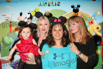 Andrea Evans Photo - LOS ANGELES - DEC 4  Amelie Bailey Adrienne Frantz Bailey Kylie Lyn Rodriguez Andrea Evans at the Amelie Baileys 1st Birthday Party at Private Residence on December 4 2016 in Studio CIty CA