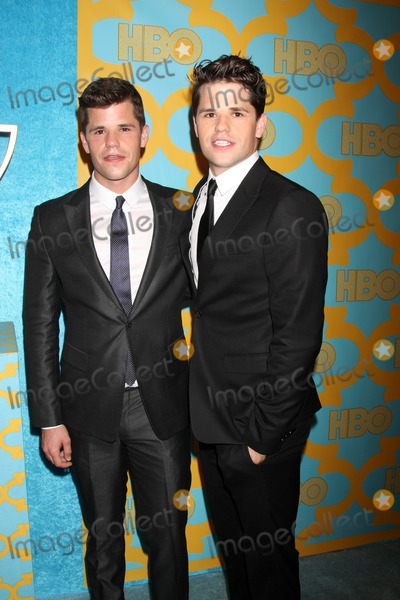Charlie Carver Photo - LOS ANGELES - JAN 11  Max Carver Charlie Carver at the HBO Post Golden Globe Party at a Circa 55 Beverly Hilton Hotel on January 11 2015 in Beverly Hills CA