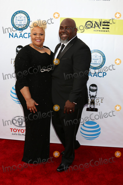 David Mann Photo - LOS ANGELES - FEB 11  Tamela Mann David Mann at the 48th NAACP Image Awards Arrivals at Pasadena Conference Center on February 11 2017 in Pasadena CA
