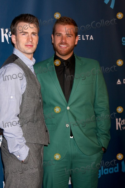 SCOTT EVANS Photo - LOS ANGELES - APR 20  Chris Evans Scott Evans arrives at the 2013 GLAAD Media Awards at the JW Marriott on April 20 2013 in Los Angeles CA