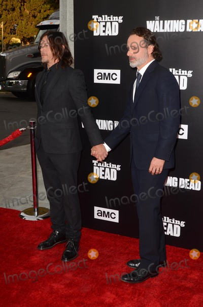 Andrew Lincoln Photo - LOS ANGELES - OCT 23  Norman Reedus Andrew Lincoln at the AMCs Special Edition of Talking Dead at Hollywood Forever Cemetary on October 23 2016 in Los Angeles CA