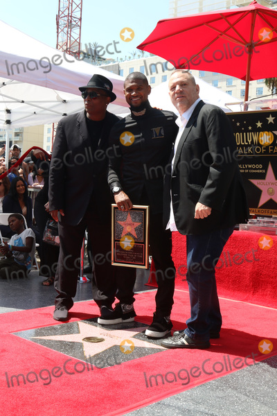 Jimmy Jam Photo - LOS ANGELES - SEP 7  Terry Lewis aka Jimmy Jam Usher Raymond Harvey Weinstein at the Usher Honored With a Star On The Hollywood Walk Of Fame at the Eastown on September 7 2016 in Los Angeles CA