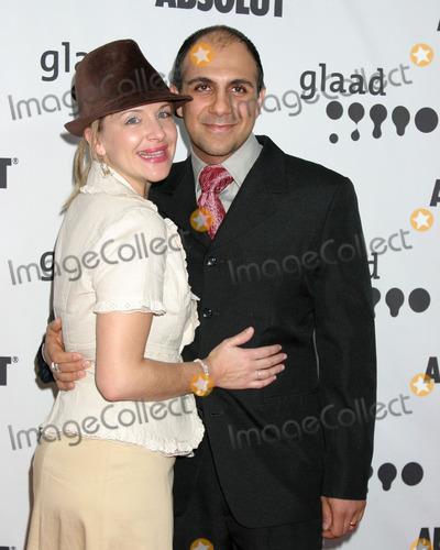 Anthony Azizi Photo - Anthony Azizi  wifeGLAAD Media AwardsHollywood  HighlandLos Angeles CAApril 8 2006