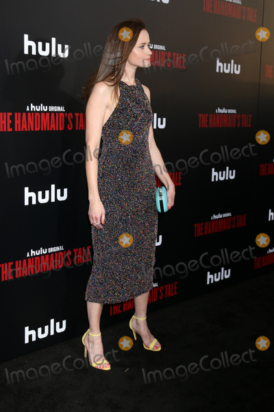 Alexis Bledel Photo - LOS ANGELES - APR 25  Alexis Bledel at the Premiere Of Hulus The Handmaids Tale at Cinerama Dome ArcLight on April 25 2017 in Los Angeles CA