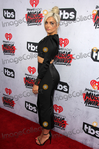 Bebe Rexha Photo - LOS ANGELES - APR 3  Bebe Rexha at the iHeart Radio Music Awards 2016 Arrivals at the The Forum on April 3 2016 in Inglewood CA