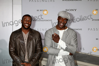 Aldis Hodges Photo - LOS ANGELES - DEC 14  Edwin Hodge Aldis Hodge at the Passengers Premiere at Village Theater on December 14 2016 in Westwood CA