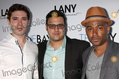 Andrew Gregory Photo - LOS ANGELES - AUG 4  Kristos Andrews Gregory J Martin Derrell Whitt at the The Bay Red Carpet Extravaganza at the Open Air Kitchen  Bar on August 4 2014 in West Hollywood CA