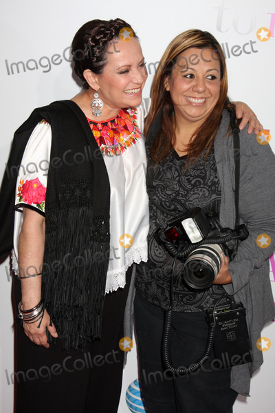 Adriana Barraza Photo - LOS ANGELES - JAN 18  Actress Adriana Barraza  and photographer Adriana M Barraza  arrives at From Prada to Nada at Regal Cinemas at LA Live on January 18 2011 in Los Angeles CA