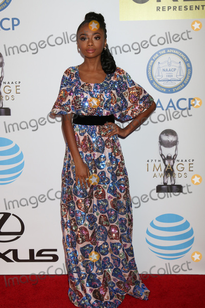 Skai Jackson Photo - LOS ANGELES - FEB 5  Skai Jackson at the 47TH NAACP Image Awards Arrivals at the Pasadena Civic Auditorium on February 5 2016 in Pasadena CA