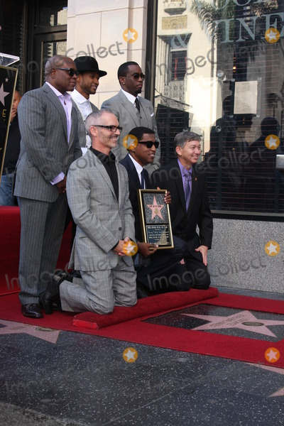Antonio LA Reid Photo - LOS ANGELES - OCT 10  Usher Sean Combs Antonio LA Reid City official Kenny Babyface Edmonds Leron Gubler at the Kenny Babyface Edmonds Hollywood Walk of Fame Star Ceremony at Hollywood Boulevard on October 10 2013 in Los Angeles CA