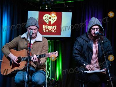 Dale Earnhardt Jr Photo - BALA CYNWYD PA - MARCH 24 (L to R) Joshua Epstein and Daniel Zott of American Indie Pop Band Dale Earnhardt Jr Jr Perform at Radio 1045s Performance Theatre on March 24 2014 in Bala Cynwyd Pennsylvania (Photo by Paul J FroggattFamousPix)