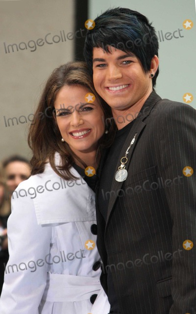 Natalie Morales Photo - New York  05-28-09Natalie Morales and Adam Lambert on NBCs Today Show Concert Series at Rockefeller PlazaDigital photo by Maggie Wilson-PHOTOlinknet