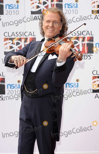 Andre Rieu Photo - Andre Rieu attending The Classical BRIT Awards Royal Albert Hall London13th May 2010 Eric Best
