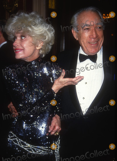 Anthony Quinn Photo - Carol Channing Anthony Quinn1422JPG1992 FILE PHOTO New York NYCarol Channing Anthony QuinnAdam Scull-PHOTOlinknetONE TIME REPRODUCTION RIGHTS ONLYNO WEBSITE USE WITHOUT AGREEMENTE-TABLETIPAD  MOBILE PHONE APPPUBLISHING REQUIRE ADDITIONAL FEES718-374-3733-OFFICE - 917-754-8588-CELLeMail INFOPHOTOLINKNET
