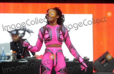 Azealia Banks Photo - Photo by KGC-102starmaxinccomSTAR MAX2014ALL RIGHTS RESERVEDTelephoneFax (212) 995-11967514Azealia Banks on stage at the Wireless Festival in Finsbury Park(London England)