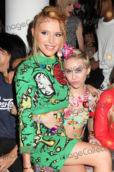 Bella Thorne Photo - Photo by HQBstarmaxinccomSTAR MAX2014ALL RIGHTS RESERVEDTelephoneFax (212) 995-119691014Bella Thorne and Miley Cyrus at Mercedes-Benz Fashion Week Spring 2015 at Milk Studios(NYC)