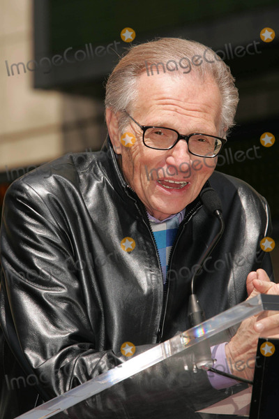 Larry King Photo - Photo by REWestcomstarmaxinccom200542005Larry King at a Hollywood Walk of Fame Ceremony(Hollywood CA)