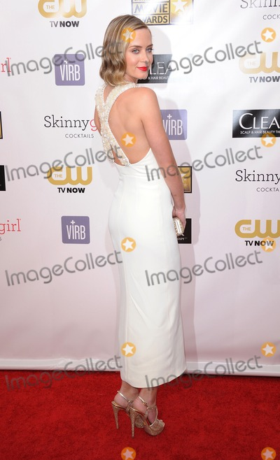 Emily Blunt Photo - 10th January 2013  Emily Blunt attending the Critics Choice Awards 2013 Barker Hanger Santa Monica CA  11013KGC-11starmaxinccom