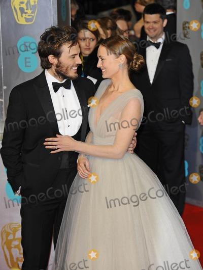 Sam Claflin Photo - Photo by KGC-138starmaxinccomSTAR MAX2015ALL RIGHTS RESERVEDTelephoneFax (212) 995-11962815Sam Claflin and and Laura Haddock at the 2015 EE BAFTA British Academy Film Awards(London England UK)