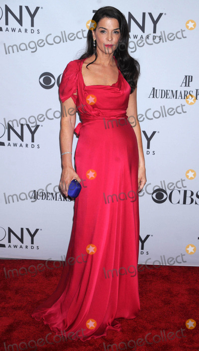 Annabella Sciorra Photo - Photo by Dennis Van Tinestarmaxinccom201161211Annabella Sciorra at the 65th Annual Tony Awards(NYC)
