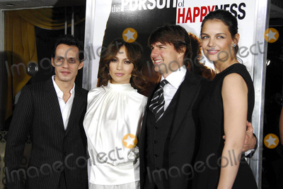 Jennifer Lopez Photo - Photo by Michael Germanastarmaxinccom200612706Tom Cruise with Katie Holmes Jennifer Lopez and Marc Anthony at the premiere of The Pursuit of Happyness(Westwood CA)