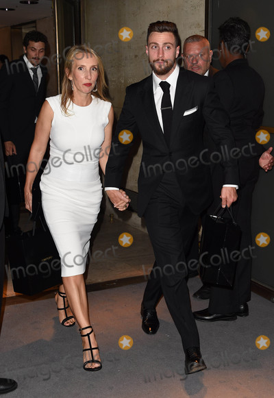 Aaron Taylor-Johnson Photo - Photo by KGC-195starmaxinccomSTAR MAX2016ALL RIGHTS RESERVEDTelephoneFax (212) 995-11969716Sam Taylor-Johnson and Aaron Taylor-Johnson at New York Fashion Week(NYC)