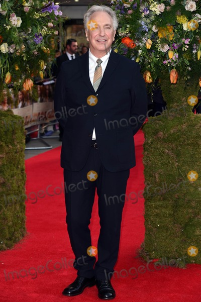 Alan Rickman Photo - Photo by KGC-03starmaxinccomSTAR MAX2015ALL RIGHTS RESERVEDTelephoneFax (212) 995-119641315Alan Rickman at the premiere of A Little Chaos(London England UK)