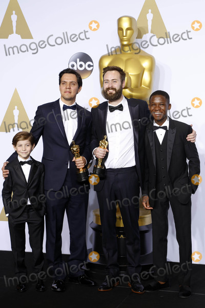 Abraham Attah Photo - Photo by REWestcomstarmaxinccomSTAR MAXCopyright 2016ALL RIGHTS RESERVEDTelephoneFax (212) 995-119622816Jacob Tremblay Shan Christopher Ogilvie Benjamin Cleary and Abraham Attah at the 88th Annual Academy Awards (Oscars)(Hollywood CA USA)