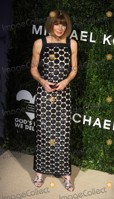 Anna Wintour Photo - Photo by Dennis Van TinestarmaxinccomSTAR MAX2016ALL RIGHTS RESERVEDTelephoneFax (212) 995-1196101716Anna Wintour at The 2016 Gods Love We Deliver Golden Heart Awards Dinner(New York City)
