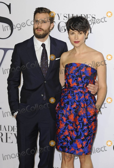Amelia Warner Photo - Photo by KGC-138starmaxinccomSTAR MAX2015ALL RIGHTS RESERVEDTelephoneFax (212) 995-119621215Jamie Dornan and wife Amelia Warner at the premiere of Fifty Shades of Grey(London England UK)