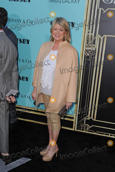 Martha Stewart Photo - Photo by Tanya Keseystarmaxinccom2013ALL RIGHTS RESERVEDTelephoneFax (212) 995-11965113Martha Stewart at the premiere of The Great Gatsby(NYC)