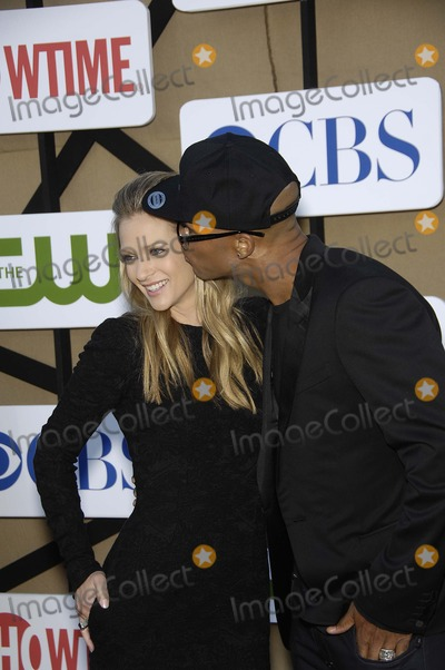 AJ Cook Photo - AJ Cook and Shemar Moore during the CBS Network TCA Party held at 9900 Wilshire Blvd on July 29 2013 in Beverly Hills CaliforniaPhoto Michael Germana Star Max