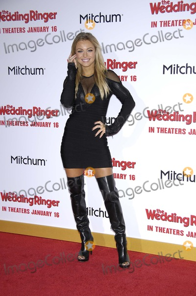 Nikki Leigh Photo - Photo by Michael GermanastarmaxinccomSTAR MAX2015ALL RIGHTS RESERVEDTelephoneFax (212) 995-11961615Nikki Leigh at the premiere of The Wedding Ringer(Los Angeles CA)