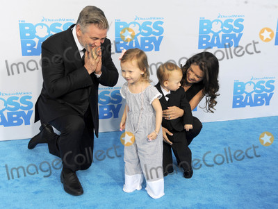 Alec Baldwin Photo - Photo by Dennis Van TinestarmaxinccomSTAR MAX2017ALL RIGHTS RESERVEDTelephoneFax (212) 995-119632017Carmen Gabriela Baldwin Alec Baldwin Leonardo Angel Charles Baldwin and Hilaria Baldwin at the premiere of Baby Boss in New York City